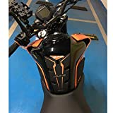 Motorcycle Gas Tank Pad Rubber Cover with Knee Fuel