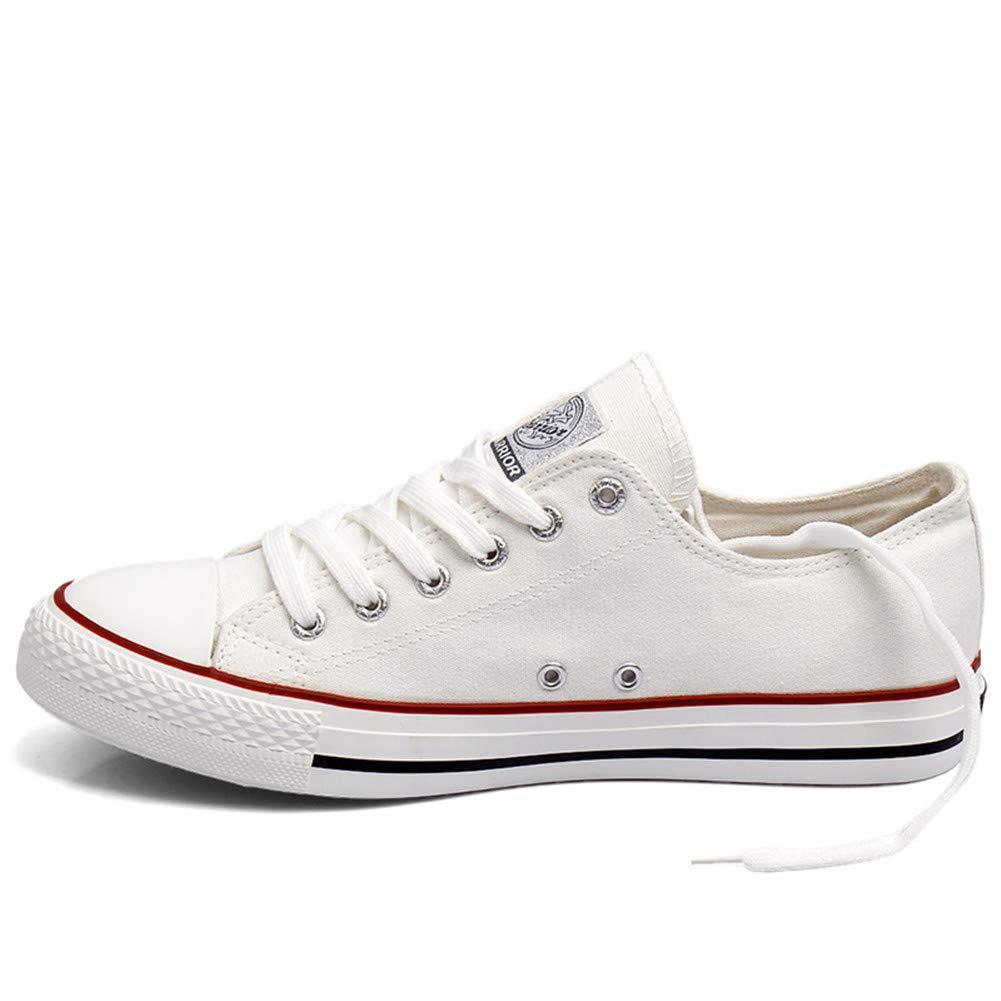 KAKAFASHION KAKAFASHION KAKAFASHION - Zapatos de Cordones de Lona para Hombre 311a23