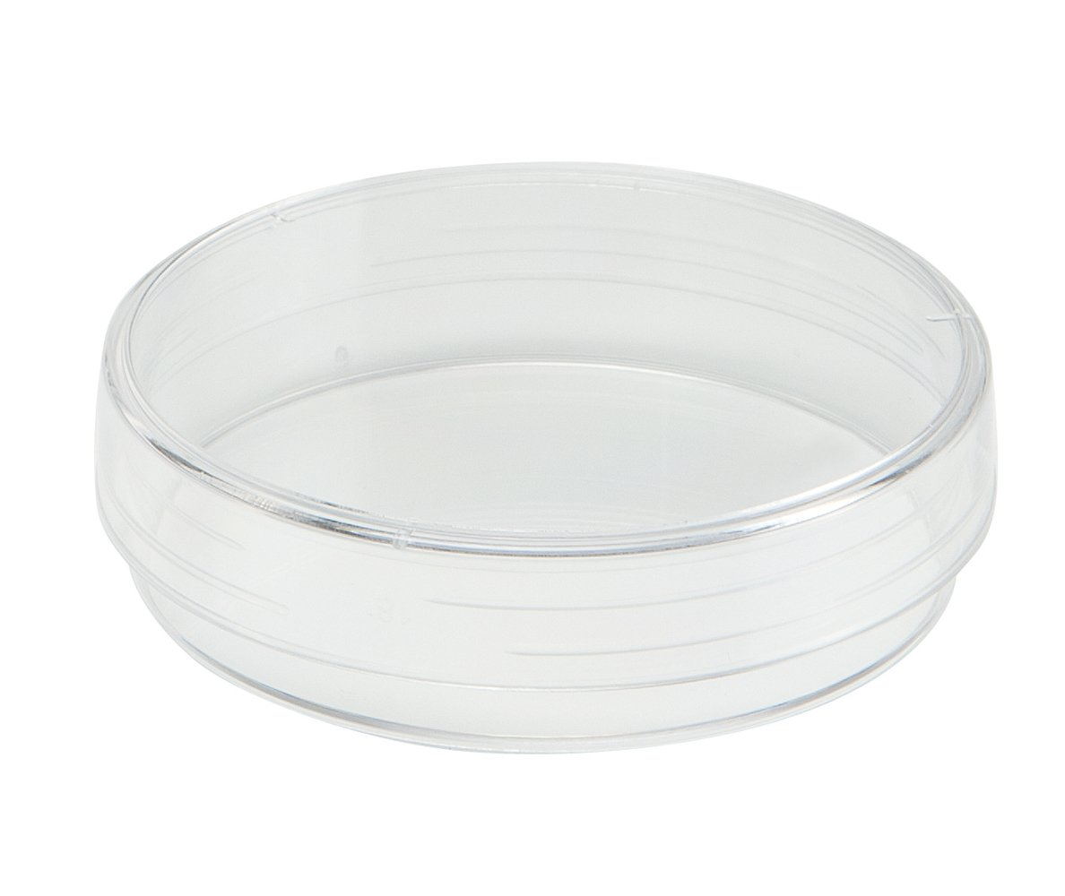 TrueLine Clear Polystyrene Sterile Cell Culture Dish, 35mm Diameter, 10mm Height (Case of 500)