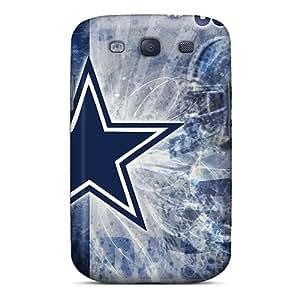 DrawsBriscoe Samsung Galaxy S3 High Quality Hard Phone Cases Custom Attractive Dallas Cowboys Series [wtY4972FQdn]