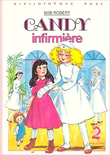 Candy Infirmiere Collection Bibliotheque Rose Cartonnee