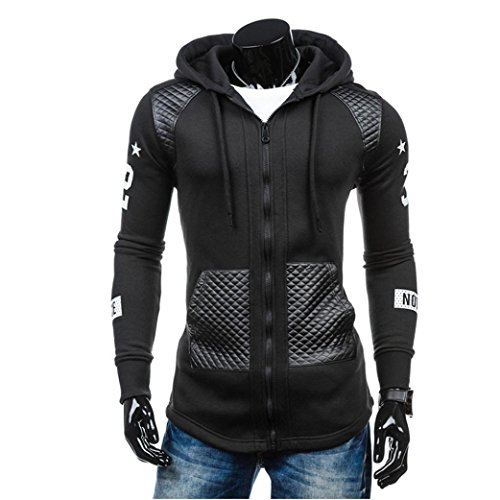 HOT Sale,AIMTOPPY Men Leather Winter Warm Hooded Windproof for sale  Delivered anywhere in USA