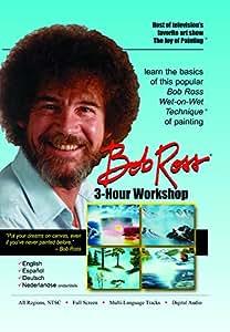 Bob Ross Joy of Painting Series: 3-Hour Workshop DVD English