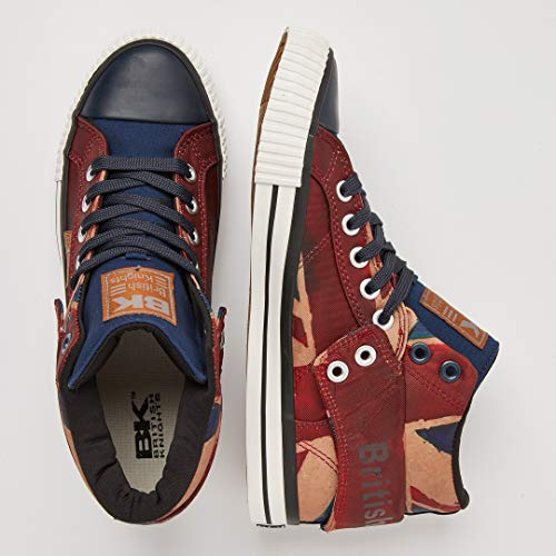 Knights 01 Union Jack Hautes Roco Beige Navy Rouge Red Baskets British Homme dzP6WSd4