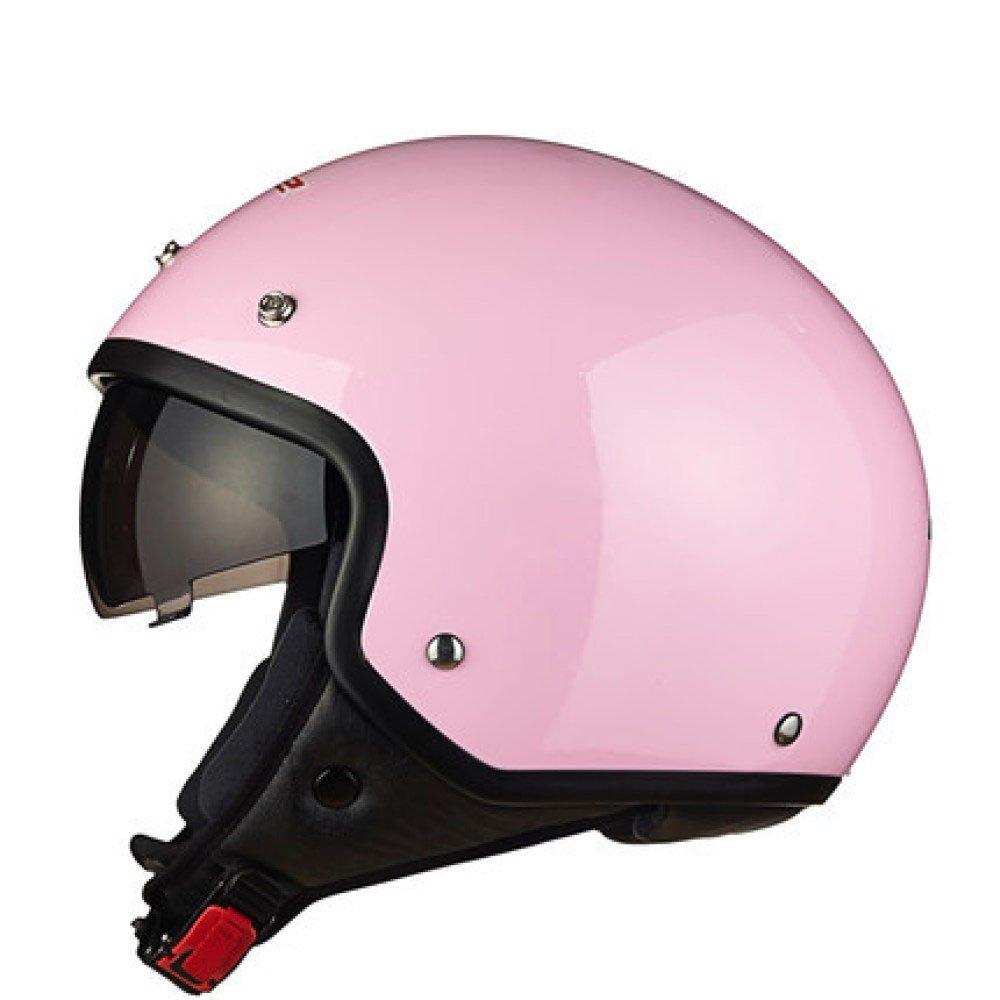 RAQ Sturzhelm im Freienart- und weisehelm ABS-Leichtgewichtler-Motorrad-Fahrrad-Sturzhelm-Sonnenschutzsicherheitsatmungsaktiver vierjahreszeiten-Sturzhelm (Farbe   F, größe   L(55-58CM))