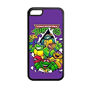Generic Soft Nice Phone Case For Girly Printing Teenage Mutant Ninja Turtles For Apple Iphone 5C Choose Design 4