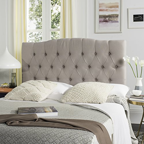 Safavieh Taupe Upholstered Tufted Headboard Explained