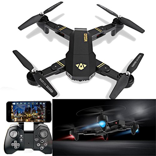 Brand New VISUO XS809HW Wifi FPV 2MP Camera 2.4G Selfie RC Quadcopter Toys by ABASSKY
