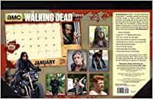 The Walking Dead 174 Amc 2017 Desk Pad Planner Calendar