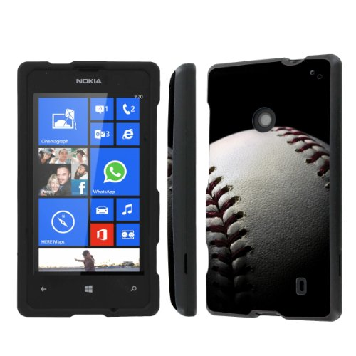 Price comparison product image NakedShield Nokia Lumia 635 (Baseball) Total Hard Armor Protection LifeStyle Phone Case