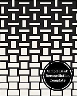 amazon com simple bank reconciliation template bank reconciliation