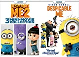 Despicable Me 1 & Despicable Me: 3 Mini-Movie Collection with Minions DVD Animated Set