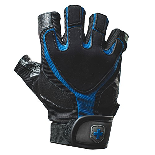 Harbinger Training Grip Non-Wristwrap Weightlifting Gloves with TechGel-Padded Leather Palm (Pair) – DiZiSports Store
