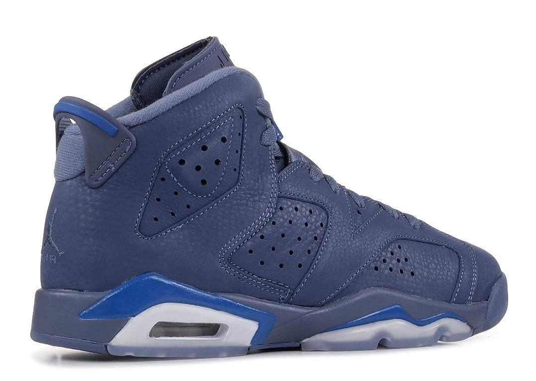 8f59bcd8636620 Nike AIR Jordan 6 Retro (GS)  DIFFUSED Blue  - 384665-400  Amazon.ca  Shoes    Handbags