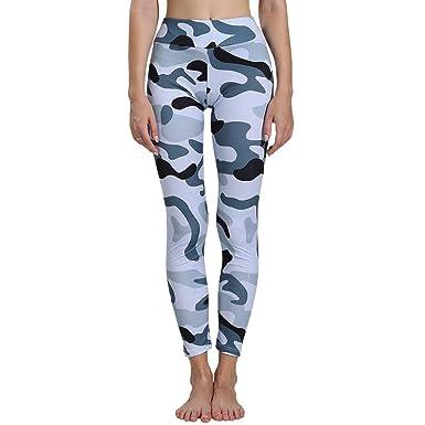 Pantalones Yoga Mujeres Impresión Camuflaje, pantalón Chandal ...