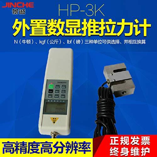 FINCOS External Digital Push Pull Gauge Dynamometer HP-3K 3000N 300 kg