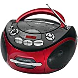 AEG SR 4353 Radio/Stereo, CD/MP3, Rosso/Antracite