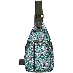 JD Million shop 2017 Ethnic Designer Floral Printing Ladies Chest Pack Bags Original Brand Women Small Shoulder Bag Pouch