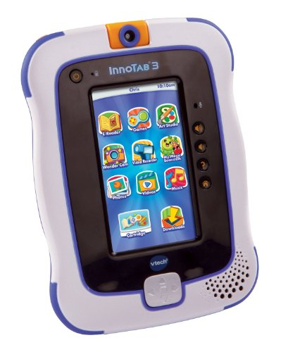 VTech InnoTab 3 The Learning App Touchscreen Tablet, Blue (Certified Refurbished)