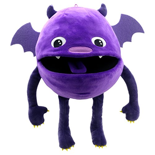 The Puppet Company Baby Monsters Purple Monster Hand Puppet