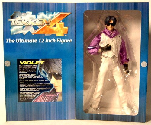 "Tekken 4 Series 2 12"" Figure Violet"