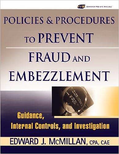 fraud investigation procedures