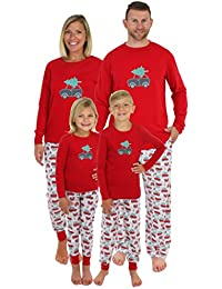 Holiday Family Matching Tree Delivery Pajama PJ Sets