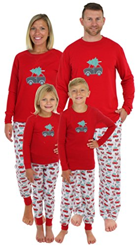 Sleepyheads Holiday Family Matching Tree Delivery Pajama PJ Sets - Womens (SHM-5011-W-SML) -
