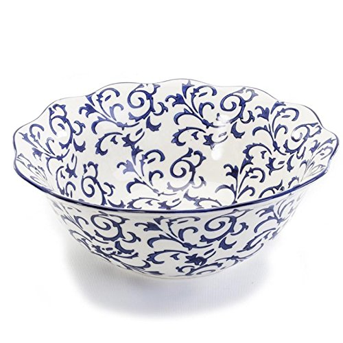 BIA Cordon Bleu HERITAGE Serving Bowl Blue - Bia Serving Bowl
