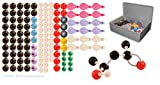University Chemistry Molecular Model Kit for Organic and Inorganic Chemistry, Teacher Set, 115 Atoms and 140 Bonds, 273 Pieces