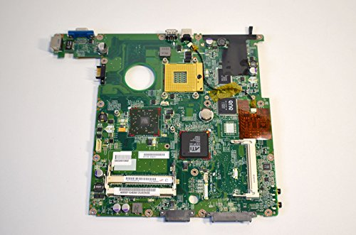 NEW Genuine OEM Toshiba Satellite L30 L35 Series Laptop Notebook DDR SODIMM Slot Intel Processor CPU Mpga478 Socket Logic Main System Board Mainboard Integrated On-Board ATI Video Graphics USB VGA RJ11 31BL3MB0022 Motherboard A000011040 Assembly