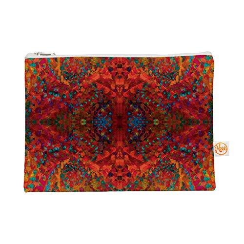 Kess eigene 12,5x 21,6cm nikposium Red Sea Alles Tasche–Orange abstrakt
