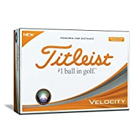 Titleist Velocity Golf Balls (One Dozen)