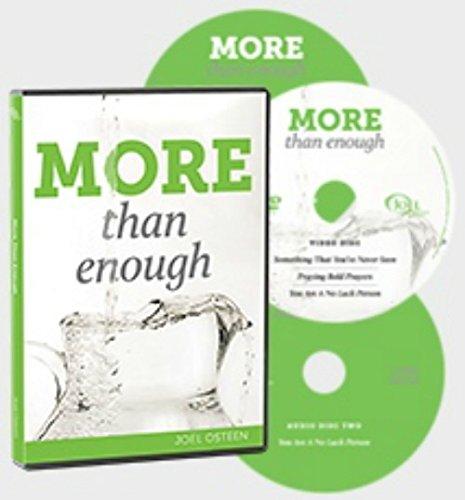 Message Album - Joel Osteen MORE than Enough (3 Message Album on CD/DVD)