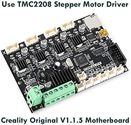 Authentic Creality 4.2.7 32 Bit Silent TMC2225 Control Board Upgrade Kit for Ender 3 Pneumatic Fittings and Premium Bed Springs Ender 3 Pro//Ender 5 with 1M Capricorn PTFE