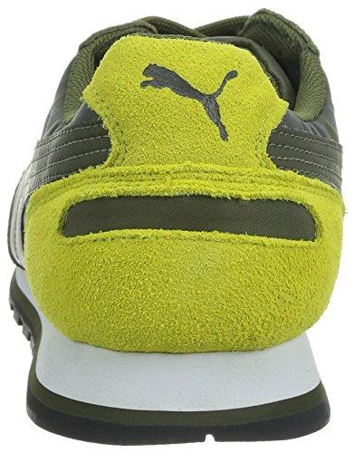PUMA St Runner Camo - Zapatillas de running, unisex Marrón ((burnt olive-sulphur spring 02))