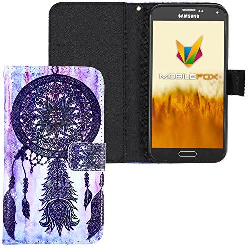 Mobilefox Traumfänger Flip Case Handytasche Samsung Galaxy S5 mini