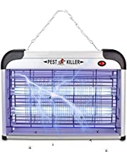 Electronic Mosquito Killer Lamp Bug Zapper Insert Pest Fly Killer with UV Bulb 20W Effective Safety for Outdoor Indoor Living Room Bedroom Kitchen Yard Garden