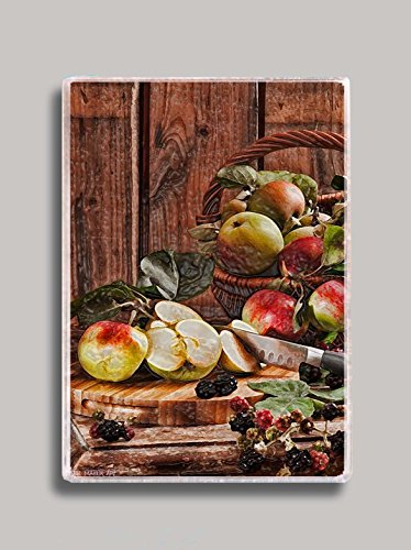 Apple Basket Refrigerator Magnet