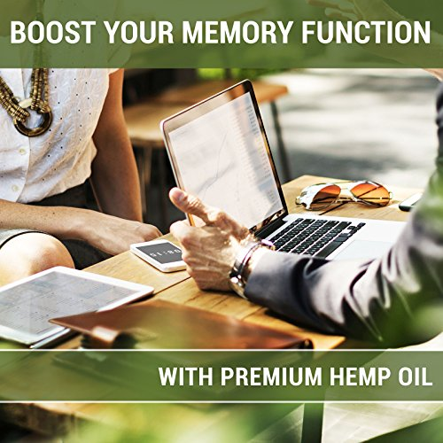 [Newest 2018] Formula Hemp Oil for Pain Relief Full Spectrum 250mg - Reduces Pain/Stress Support/Anti Anxiety/Sleep Supplements - Hemp Extract Oil Drops with MCT Fatty Acids by VitaFormulas (Image #4)