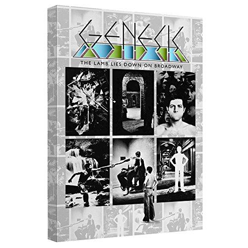 GENESIS/LAMB LIES DOWN ON BROADWAY-CANVAS WALL ART WITH BACK BOARD-WHITE-12x18 (Lies Lamb)
