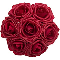 Real Touch Rose for Valentine's Day Gift (Red)