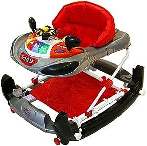 Bebe Style - Andador y balancín con diseño de coche de F1 gris ...