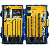 IRWIN Tools Black Oxide Hex Shank Drill Bit, 5/64-Inch (4935643)