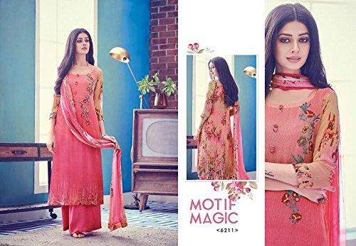 8743 Straight Suit Salwar donne misurare Party prachi vestito abito indiano pakistano designer musulmana indiano Wear per Bollywood desai Personalizza ngawUTqZ