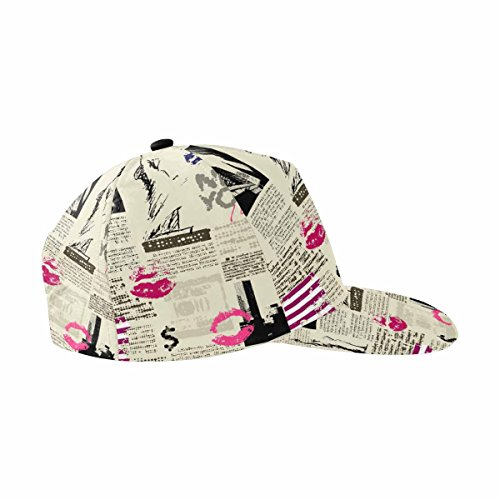 InterestPrint New York I Love You Adjustable Baseball Cap Hat