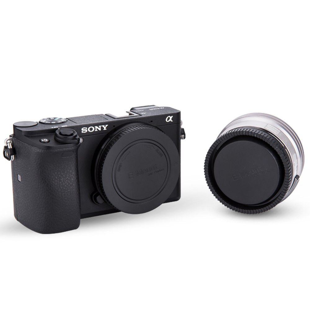 5 Pack Body Cap And Rear Lens Kit For Sony Alpha Series Nex A7r Ii