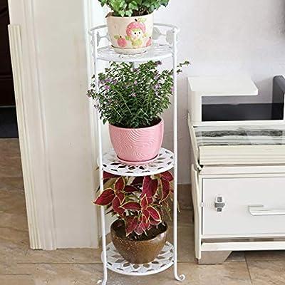 Puesto de plantas Puesto de flores vertical de 3 pisos, soporte de ...