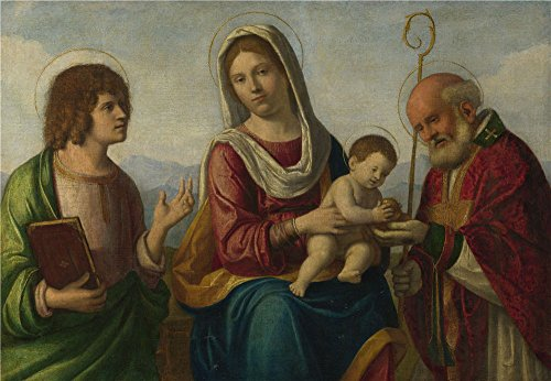 Plastic Surgery Costume Uk (Oil Painting 'Giovanni Battista Cima Da Conegliano The Virgin And Child With Saints ' Printing On High Quality Polyster Canvas , 20 X 29 Inch / 51 X 74 Cm ,the Best Bedroom Artwork And Home Artwork And Gifts Is This Cheap But High Quality Art Decorative Art Decorative Prints On Canvas)