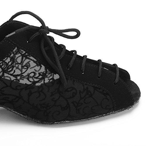 Jig Foo Latin Salsa Rumba Chacha Practice Ballroom Dance Shoes For Women